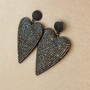 BaubleBar Heart Earrings